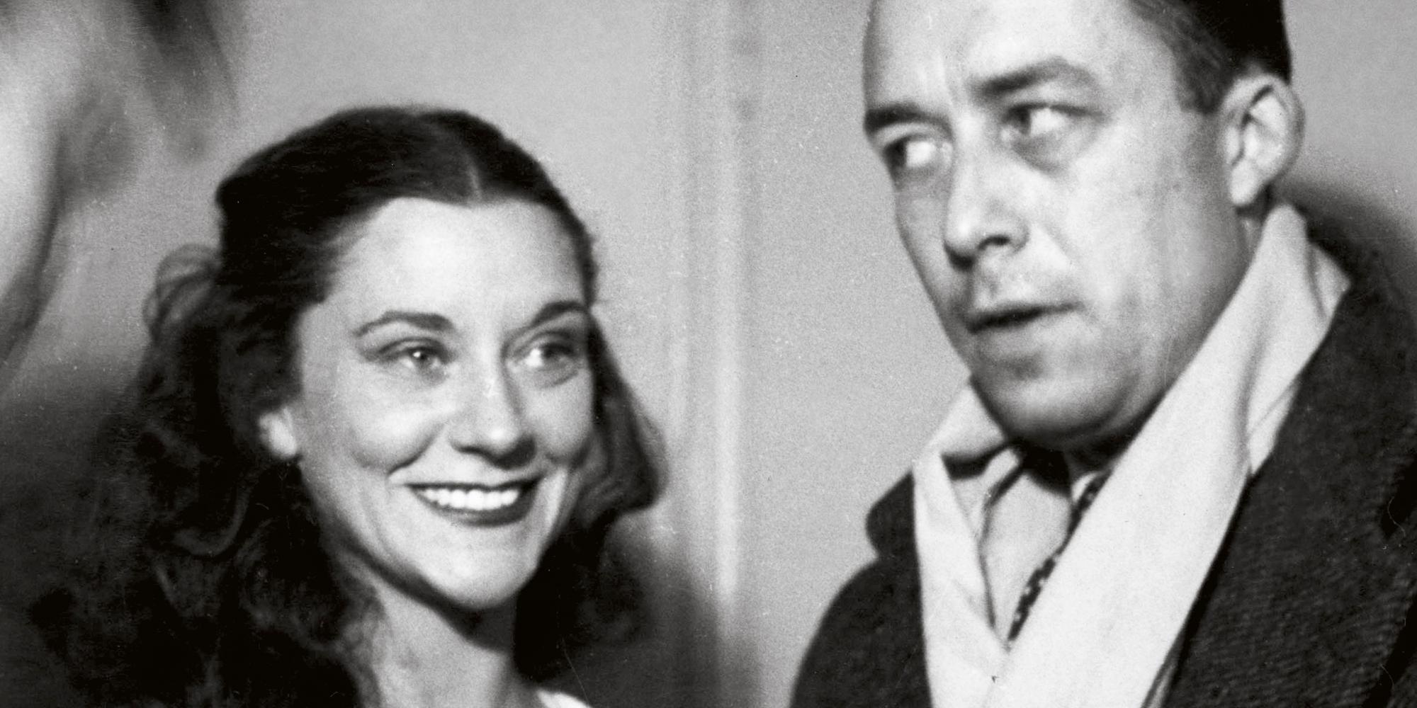 Maria Casares et Albert Camus